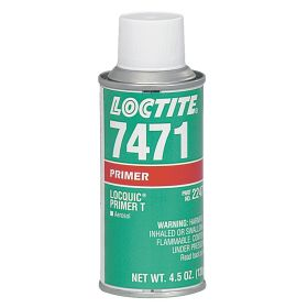 Loctite 7471 Primer: Gasket Sealants/Retaining Compounds/Threadlockers, For Metal, Orange, 4.5 oz Size, Aerosol Can