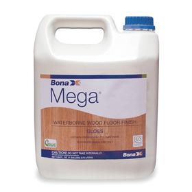 Bona Floor Finish: For Wood Floors, 32.5 % Solids Content, 1 gal Size, Jug, Water, White, Ready to Use, Gloss