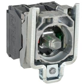 Schneider Electric Lamp Module & Contact Block: For ZB4 Series, 24V AC/DC, Mounting Base, Contact Block & LED Module, Red