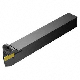 Sandvik Coromant Indexable Cut-Off Toolholder: CoroCut 1-2, 123 Insert, Right Hand, Grooving/Parting, E Seat Size, 12 mm Shank Wd