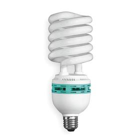 Spiral CFL Bulb: Gen Purpose, T3, T4-Coil, 85 W, 300 W Equivalent Watt, 5000 lm, Cool White Light