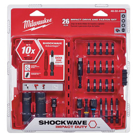 Milwaukee Screwdriver Set: Chrome Vanadium Steel, Chrome