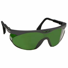 Honeywell Welding Safety Glasses: Wraparound Frame, Shade 5.0, Anti-Fog/Scratch Resistant, Black