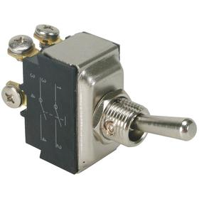 General Duty Toggle Switch: 2 Positions, 20 A @ 125V AC Switch Rating, 2 Poles, On-Off, DPST Pole-Throw Configuration