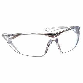PIP Safety Glasses: Clear, Frameless Frame, Non-Reflective/Scratch Resistant, ANSI Z87.1/CSA Z94.3, Polycarbonate
