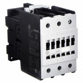GE IEC Magnetic Contactor: 3 Poles, Single/Three Phase, 96 A Current Rating, 24V AC Control Volt, Std Terminal
