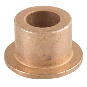 Flanged Sleeve Bearing: Inch, SAE 841 Material Grade, Bronze, For 1/2 in Shaft Dia, 1 1/4 in Overall Lg, 5/8 in OD, SAE 30, 3 PK