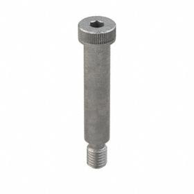 "Steel Shoulder Screw: Plain, Hex Socket, 5/8 in Shoulder Dia, 1/2""-13 Thread Size, 2 3/4 in Shoulder Lg, 7/8 in Head Dia"