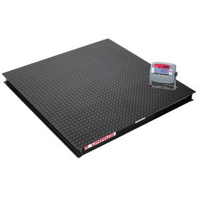 Ohaus Floor Scale: Digital, 1000 kg Capacity, 0.200 kg Scale Graduation, kg/lb, RS-232, 48 in Platform Lg, Auto Tare