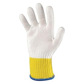 Wells Lamont Work Glove: Fabric Glove, ANSI Cut-Resist Level 5, Knit Cuff, High-Performance Fibers/Stainless Steel, Std