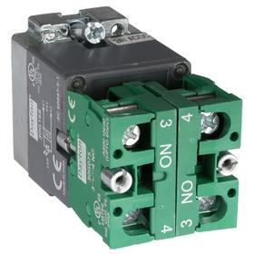 Lamp Module & Contact Block: For Chrome Operators, 1.57 in Overall Lg, Yellow, Includes Bulb, 2.97 in Overall Ht, 1.81 in Overall Wd