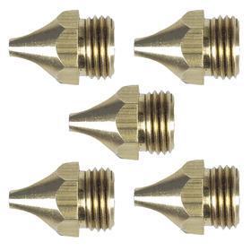 Bernard MIG Welding Gun Tip: Power Pin, For 0.078 in Wire Size, Steel, For Miller Spoolmatic MIG Guns/XR MIG Guns, 5 PK