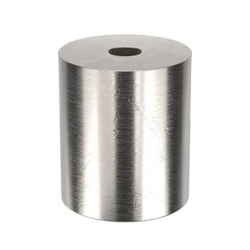 Aluminum Spacer: Imperial, 3/8 in Screw Size, 3/4 in Overall Lg, +/-0.005 in Overall Lg Tolerance, 3/8 in ID, 10 PK