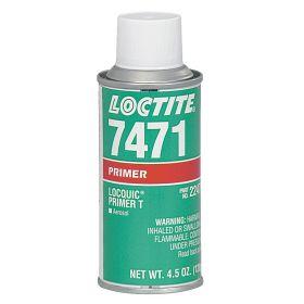 Loctite 7471 Primer: Gasket Sealants/Retaining Compounds/Threadlockers, Aerosol Can, 4.5 oz Size, For Metal, Orange