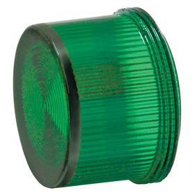 Siemens Pilot Light Lens: Green, For Siemens 30mm Pilot Lights, 18 Haz Material Indicator, Fresnel