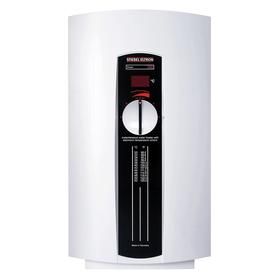 Electric Tankless Water Heater: 208V AC/240V AC, 131° F Max Water Temp, 110° F Max Ambient Op Temp, 8 gpm Max Flow Rate