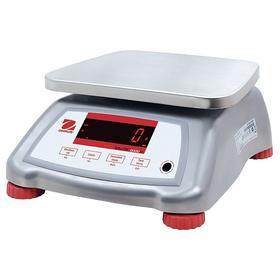 Ohaus Digital Food Processing Scale: g/kg/lb/lb:oz/oz, 15 kg Capacity, 0.002 kg Scale Graduation, 9.50 in Platform Lg