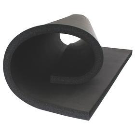 PVC/NBR Insulation Sheet: 48 in Lg, Plain, 36 in Wd, 1 in Thickness, 4 R Value, -297° F Min Op Temp, 220° F Max Op Temp