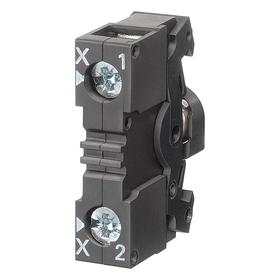 Siemens Lamp Module without Bulb: For Mfr. No. 3SB34000B Contact Block, 240V AC, 0.79 in Overall Lg