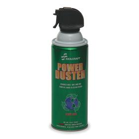 Aerosol Air Duster: Upright, 10 oz Container Size