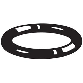 O-Ring: Round, Black, 0.103 in Actual Wd, 3/32 in Nominal Wd, Buna N, 135 AS568 Dash, 1.925 in Actual ID, Inch, 10 PK