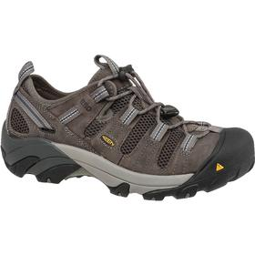 Static-Dissipative Work Shoe: 2E Shoe Wd, 15 Men's Size, Men, Steel, Leather, Gray, Metal Chip Resisting Sole, 1 PR