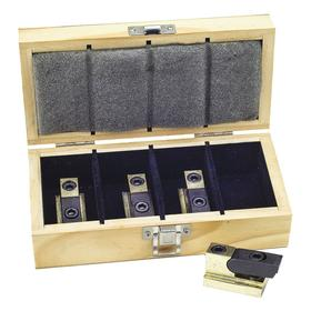 CH Hanson Clamping Kit: 7 13/32 in Overall Lg, 4 Pieces, 11/16 in Slot Size, Steel, Drilling/Milling, Quick, Easy Set-Up