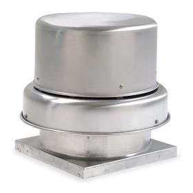 downblast roof ventilator: 115/208/230v ac, gen purpose, 1 speed