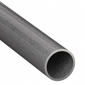 Electrical Metal Tubing (EMT): 1/2 Trade Size, Hot Galvanized, Steel, 0.7 in Conduit OD, 0.61 in Conduit ID