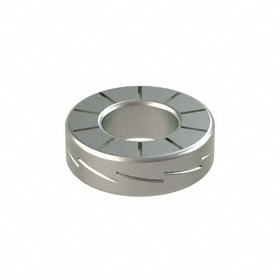 Wedge Lock Washer: 254 SMO Stainless Steel, For No. 6 Screw Size, 0.15 in Max ID, 0.3 in Max OD, 10 PK