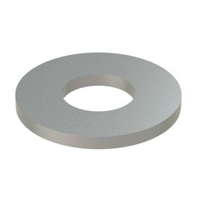 Oversized Flat Washer: 18-8 Stainless Steel, For No. 12 Screw Size, 0.25 in ID, 0.5 in OD, 0.047 in Thickness, 50 PK