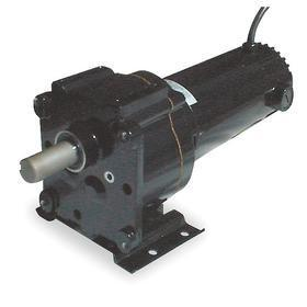DC Gearmotor: 24V DC, 30 RPM Nameplate RPM, 254 in-lb Full-Load Torque, 291 lb Overhung Load, 1/8 hp Input Power