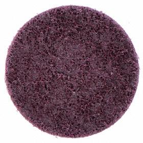 Saint-Gobain Mesh Finishing Disc: TS/TSM Turn-On/Off, Medium Relative Grit Grade, 4 in Disc Dia, Aluminum Oxide, 80 Grit