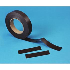 ALH Label Holder: 2 in Overall Wd, 50 ft Overall Lg, 2 in Overall Ht, Industrial/Retail/Warehouse, Black/Brown, Smooth Magnetic