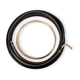 Refrigerant Tubing: 50 ft Liquid Line Lg, 50 ft Suction Line Lg, 5/16 in Liquid Line OD, 5/8 in Suction Line OD