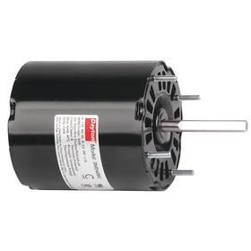 Multipurpose Direct Drive HVAC Motor: Direct Drive Fan/Blower, 1/15 hp Output Power, 3000 RPM Max Speed, Open Air-Over