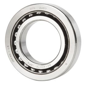 Ball Screw Support Bearing: Metric, Steel, Open, 60° Contact Angle, BST30 Bearing Trade, 30 mm Bore Dia, 62 mm OD