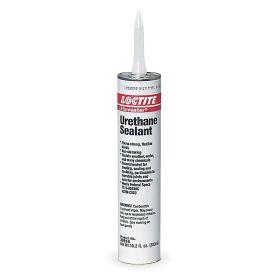 Urethane Sealant: Glass/Masonry/Metal/Wood Bonded/Sealed, 4 hr, 36 hr Full Cure Time, Gray, 10.2 fl oz Size, Cartridge