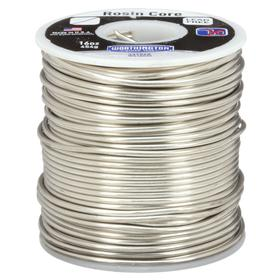 General Purpose Lead-Free Rosin-Flux Core Soldering Wire: Tin, 3% Cu/97% Sn, 0.125 in Wire Dia, 445° F Min Op Temp