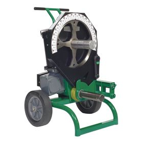 Greenlee Mobile Electric Bending Station: 1/2 in Min Compatible Pipe Dia, 2 in Max Compatible Pipe Dia, 12 in Wheel Dia