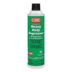 CRC Heavy Duty Degreaser & Cleaner: Ready to Use, 20 oz Size, Aerosol Can, Unscented