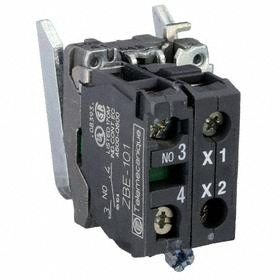 Schneider Electric Lamp Module without Bulb: For BA9 Modules, 250V AC/DC, 1.46 in Overall Lg, Mounting Base, Contact Block & LED Module