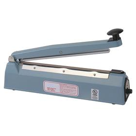 Table-Top Instant-Heat Sealer: Hand Operated, 0.0625 in Max Seal Wd, 8 in Max Seal Lg, For 6 mil Max Material Thickness