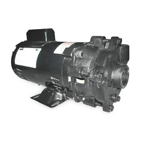 Centrifugal Pump: 1 1/2 hp Input Horsepower, Continuous Motor Duty Class, (ODP) Open Drip Proof, NPT, Semi-Open, 1 Phase, Cast Iron