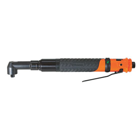 Cleco Precise Torque Air-Powered Ratchet Wrench: 1/4 in Drive Size, Square, 144 in-lb Min Working Torque, NPT