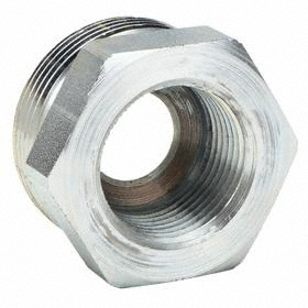 Ground Joint Coupling: Spud, For 1 in Hose Size, 1 Spud Pipe Size, NPT, Male, 450° F Max Op Temp