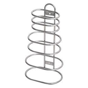 Bathroom Shelf: 18 lb Load Capacity, 6 in Dp, 11 3/8 in Ht, 4 1/4 in Wd, Wall, 7 Shelves