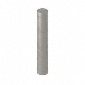 Taper Pin: Steel, Plain, 0.125 in Large End Dia, No. 3/0 Taper Pin Size, 3/4 in Overall Lg, 50 PK