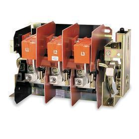 Schneider Electric Flange Mount Disconnect Switch: Three Phase, 200 A @600V AC Switch Rating, AC/DC Current Type