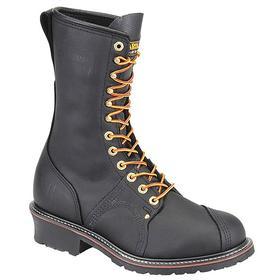 Non-Conductive Work Boot: Compression/Electrical Hazard/Impact/Moisture Resistant, 2E Shoe Wd, 11 1/2 Men's Size, Men, 1 PR